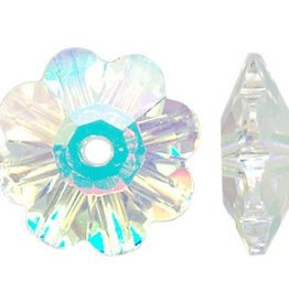 6 PC 10mm Swarovski Marguerite : Crystal AB