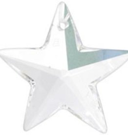 1 PC 20mm Swarovski Star (6714) : Crystal