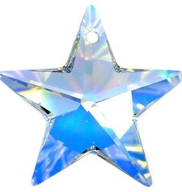 1 PC 20mm Swarovski Star : Crystal AB