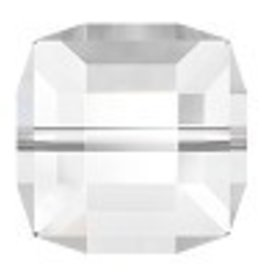 1 PC 12mm Swarovski Cube : Crystal