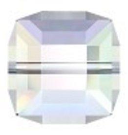 1 PC 12mm Swarovski Cube : Crystal AB