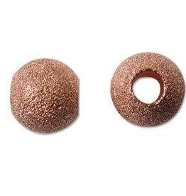6 PC CP 12mm Stardust Round Bead ID 4.7mm