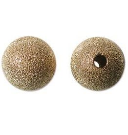 6 PC GP 14mm Stardust Round Bead
