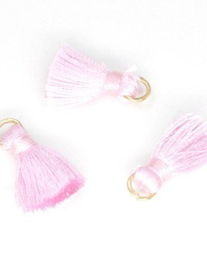 10 PC 20mm Pink Tassel