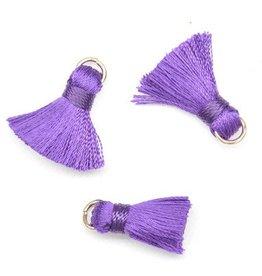 10 PC 20mm Purple Tassel