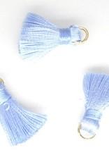 10 PC 20mm Light Blue Tassel