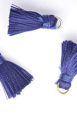 10 PC 20mm Dark Blue Tassel