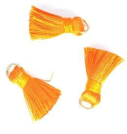 10 PC 20mm Orange Tassel