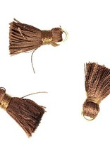 10 PC 20mm Brown Tassel