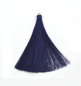 5 PC 70mm Blue Tassel