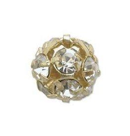 2 PC GP 8mm Rhinestone Balls : Crystal