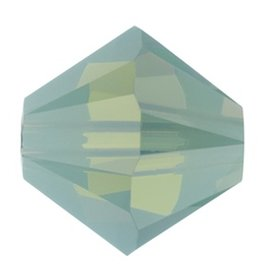 24 PC 3mm Swarovski Bicone (5328) : Pacific Opal