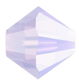 24 PC 3mm Swarovski Bicone (5328) : Violet Opal