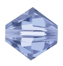 24 PC 4mm Swarovski Bicone (5328) : Light Sapphire