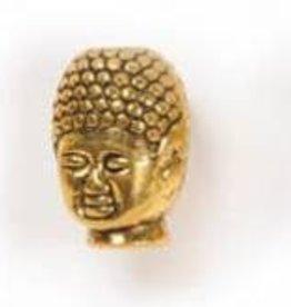 4 PC AGP 9x12mm Buddha Head Bead