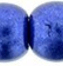 100 PC 3mm Round : Saturated Metallic Lapis Blue