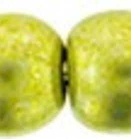 100 PC 3mm Round : Saturated Metallic Primrose Yellow