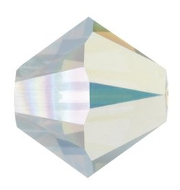 6 PC 8mm Swarovski Bicone (5328) : Crystal AB