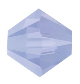 6 PC 8mm Swarovski Bicone (5328) : Air Blue Opal