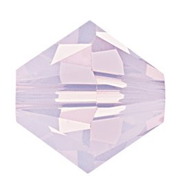 6 PC 8mm Swarovski Bicone (5328) : Rose Water Opal