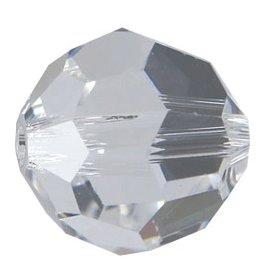 12 PC 6mm Swarovski Round (5000) : Crystal