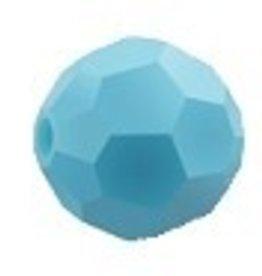 12 PC 6mm Swarovski Round (5000) : Turquoise
