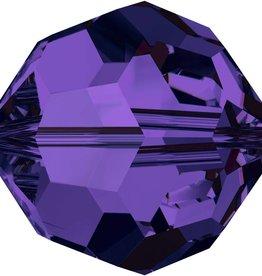 12 PC 6mm Swarovski Round (5000) : Purple Velvet