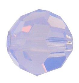 6 PC 8mm Swarovski Round (5000) : Violet Opal