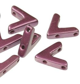 10 PC 10x4mm AVA® Bead : Pastel Bordeaux