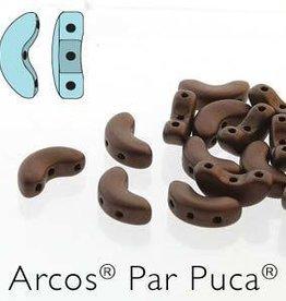 10 GM 5x10mm Arcos Par Puca : Matte Dark Bronze (APX 50 PCS)