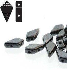 10 GM 9x5mm 2 Hole Kite : Gunmetal (APX 45 PCS)