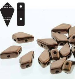 10 GM 9x5mm 2 Hole Kite : Dark Bronze (APX 45 PCS)
