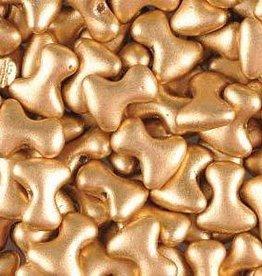 48 PC 2x8mm Tee : Bronze Pale Gold