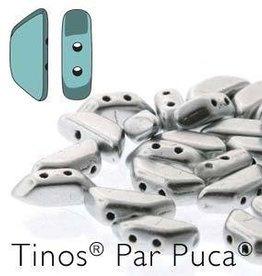 10 GM 4x10mm Tinos Par Puca : Matte Aluminum (APX 50 PCS)