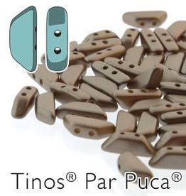 10 GM 4x10mm Tinos Par Puca : Pastel Light Brown (APX 50 PCS)