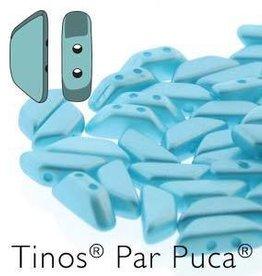10 GM 4x10mm Tinos Par Puca : Pastel Aqua (APX 50 PCS)