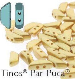 10 GM 4x10mm Tinos Par Puca : Pastel Cream (APX 50 PCS)