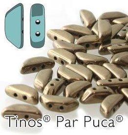 10 GM 4x10mm Tinos Par Puca : Dark Gold Bronze (APX 50 PCS)