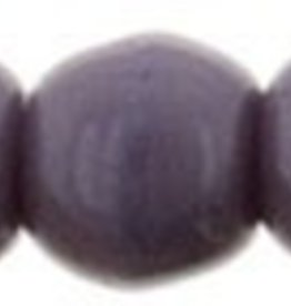 100 PC 2mm Round : Opaque Purple