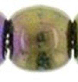 100 PC 2mm Round : Purple Iris