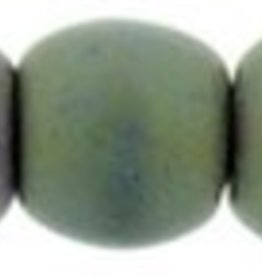 100 PC 2mm Round : Matte Purple Iris