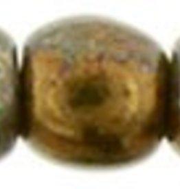 100 PC 2mm Round : Oxidized Bronze Patina