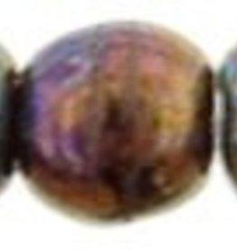100 PC 2mm Round : Oxidized Bronze Berry
