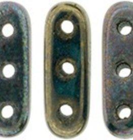 10 GM 3x10mm 3 Hole Beam : Oxidized Bronze (APX 65 PCS)