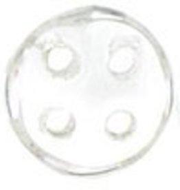 10 GM 6mm QuadraLentil : Crystal (APX 90 PCS)