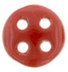 10 GM 6mm QuadraLentil : Opaque Red (APX 90 PCS)