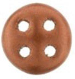 10 GM 6mm QuadraLentil : Matte Metallic Antique Copper (APX 90 PCS)