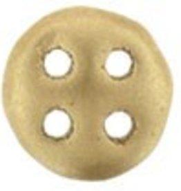 10 GM 6mm QuadraLentil : Matte Metallic Flax (APX 90 PCS)