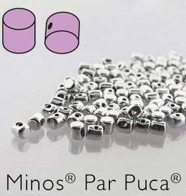 10 GM 2.5x3mm Minos Par Puca : Argentees Silver (APX 200 PCS)