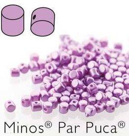 10 GM 2.5x3mm Minos Par Puca : Pastel Lilac (APX 200 PCS)